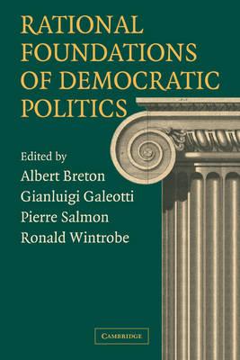 Rational Foundations of Democratic Politics book