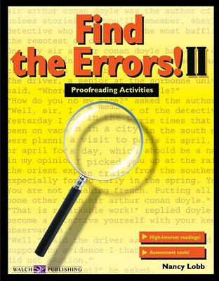 Find the Errors! II by Nancy Lobb