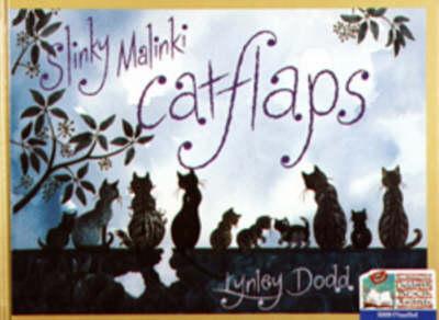 Slinky Malinki, Catflaps by Lynley Dodd