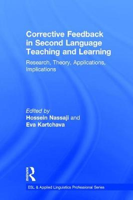 Corrective Feedback in Second Language Teaching and Learning book