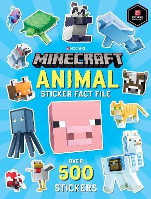 Minecraft Animal Sticker Fact File book