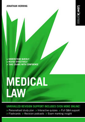 Law Express: Medical Law by Jonathan Herring