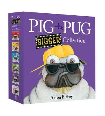 PIG THE PUG 6 BOOK SET by Aaron Blabey