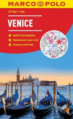 Venice Marco Polo City Map 2018 - pocket size, easy fold, Venice street map by Marco Polo