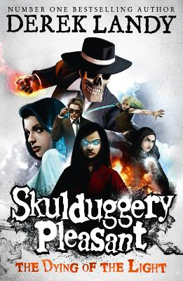 Skulduggery Pleasant #9: The Dying of the Light book