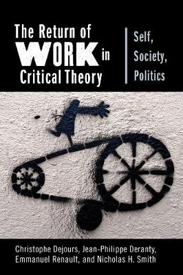 The Return of Work in Critical Theory: Self, Society, Politics by Professor Christophe Dejours