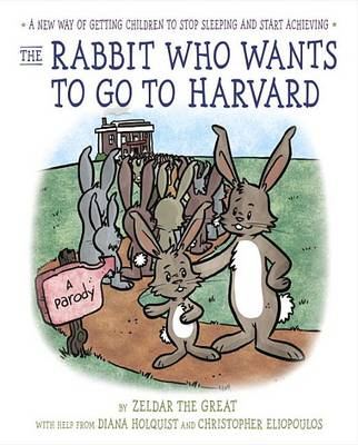 The Rabbit Who Wants to Go to Harvard: A New Way of Getting Children to Stop Sleeping and Start Achieving by Diana Holquist