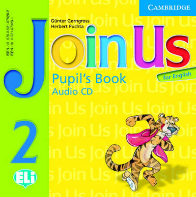 Join Us for English 2 Pupil's Book Audio CD book