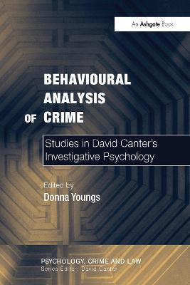 Behavioural Analysis of Crime by Donna Youngs