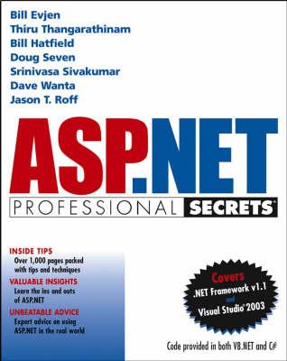 ASP.NET Professional Secrets by Bill Evjen