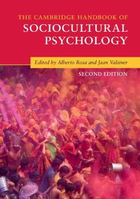 The Cambridge Handbook of Sociocultural Psychology by Jaan Valsiner