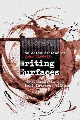 Writing Surfaces by Derek Beaulieu