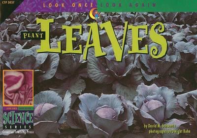 Look Once, Look Again: Plant Leaves by David M Schwartz