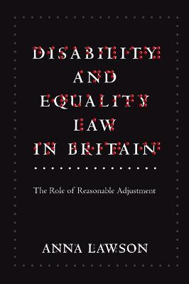 Disability and Equality Law in Britain book