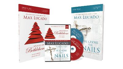 Because Of Bethlehem/He Chose The Nails Study Guides With DVD by Max Lucado