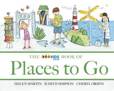 ABC Book of Places to Go by Helen Martin