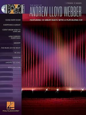 Piano Duet Play-Along Volume 4 by Andrew Lloyd Webber