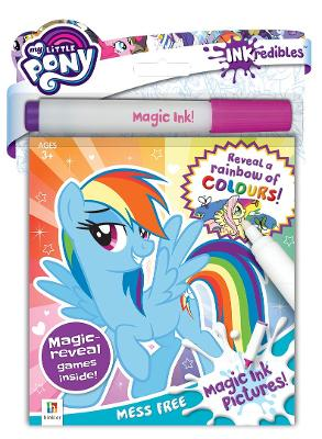 Inkredibles My Little Pony Magic Ink Pictures book