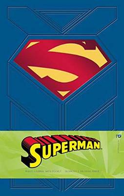 Superman Hardcover Ruled Journal by Daniel Wallace