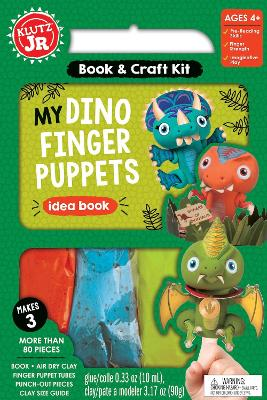 My Dino Finger Puppets by Editors of Klutz