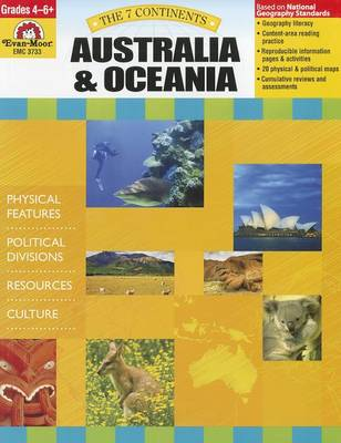 The 7 Continents Australia and Oceania by Evan-Moor Educational Publishers
