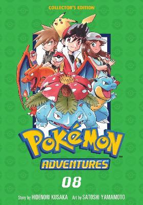 Pokemon Adventures Collector's Edition, Vol. 8 book