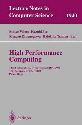 High Performance Computing by Mateo Valero