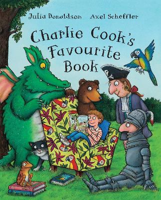 Charlie Cook's Favourite Book (Big Book) by Julia Donaldson