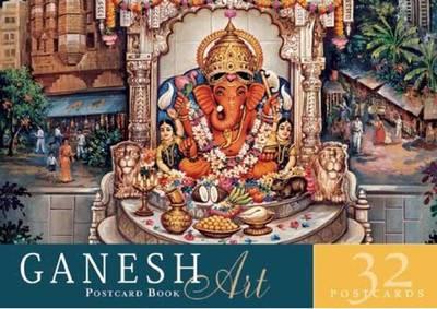 Ganesh Art Postcard Book by Mandala Publishing