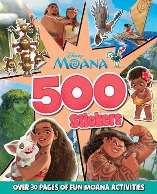 MOANA 500 STICKERS book