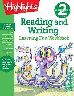Second Grade Reading and Writing book