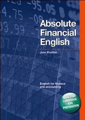 DBE:ABSOLUTE FINANCIAL ENG BK& CD by Julie Pratten