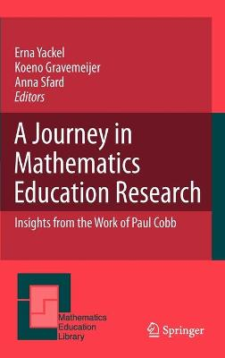 Journey in Mathematics Education Research by Anna Sfard