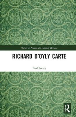 Richard D'Oyly Carte book