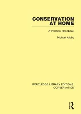 Conservation at Home: A Practical Handbook book