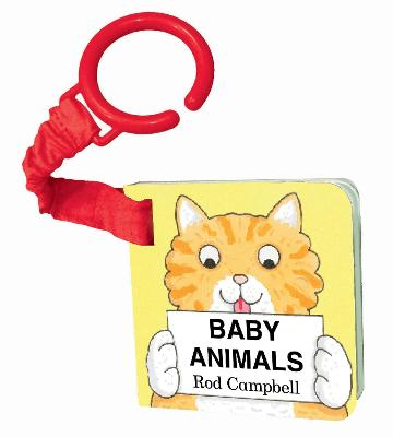 Baby Animals Shaped Buggy Book by Rod Campbell