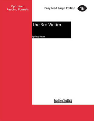 The 3rd Victim (2 Volumes Set) by Sydney Bauer