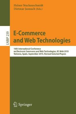 E-Commerce and Web Technologies by Dietmar Jannach