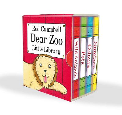 Dear Zoo Little Library by Rod Campbell