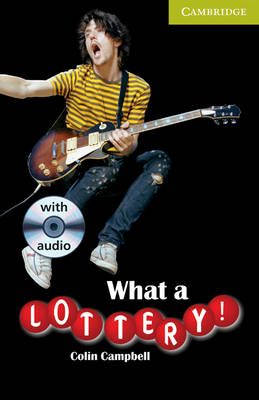 What a Lottery! Starter/Beginner Book with Audio CD Pack by Colin Campbell
