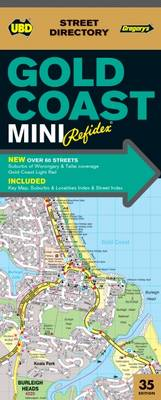 Gold Coast Mini Refidex Street Directory 35th ed by UBD Gregory's