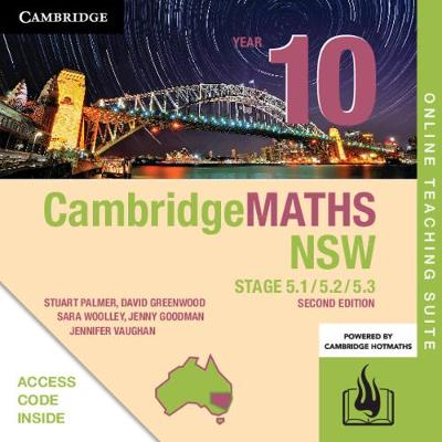Cambridge Maths Stage 5 NSW Year 10 5.1/5.2/5.3 Online Teaching Suite (Card) by Stuart Palmer