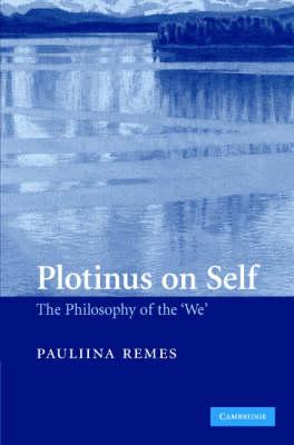 Plotinus on Self book