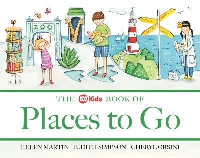 The ABC Book of Places to Go by Helen Martin
