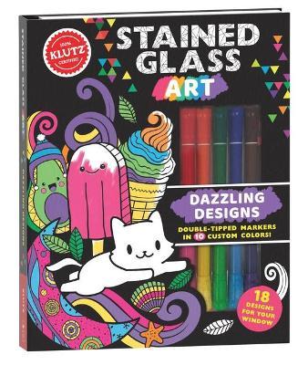 Klutz: Stained Glass Art: Dazzling Designs book