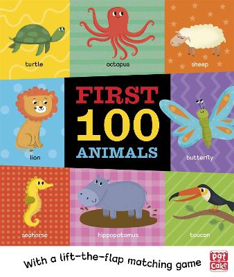 First 100 Animals by Pat-a-Cake