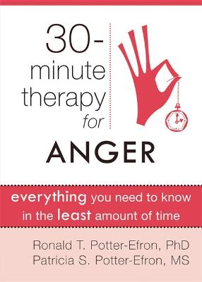 30 Minute Therapy For Anger by Ronald T. Potter-Efron