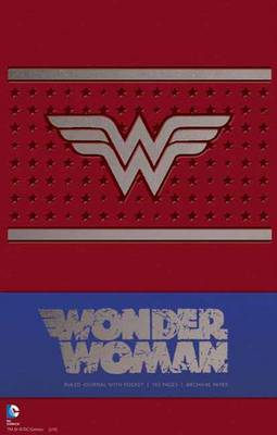 Wonder Woman Hardcover Ruled Journal by Daniel Wallace