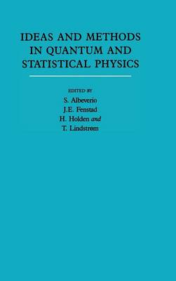 Ideas and Methods in Mathematical Analysis, Stochastics, and Applications: Volume 1 by Sergio Albeverio