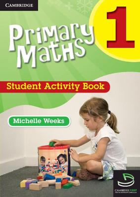 Primary Maths Student Activity Book 1 book
